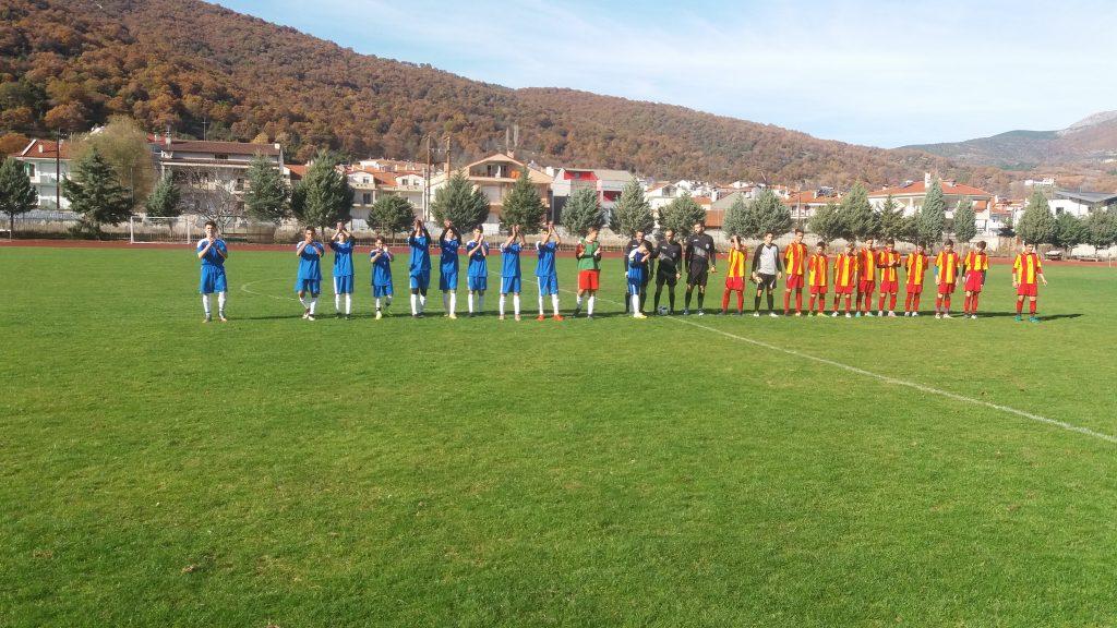 Μικτές ΕΠΣ Φλώρινας - 3η αγωνιστική με ΕΠΣ Καστοριάς - 2