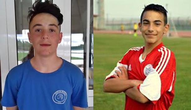 νεαροί ποδοσφαιριστές