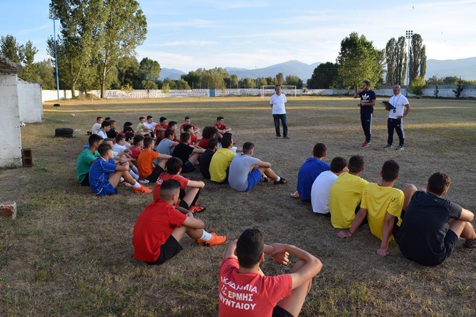 1η συνάντηση Μικτών Νεων & Παίδων ΕΠΣ Φλώρινας 2018-2019 - 5