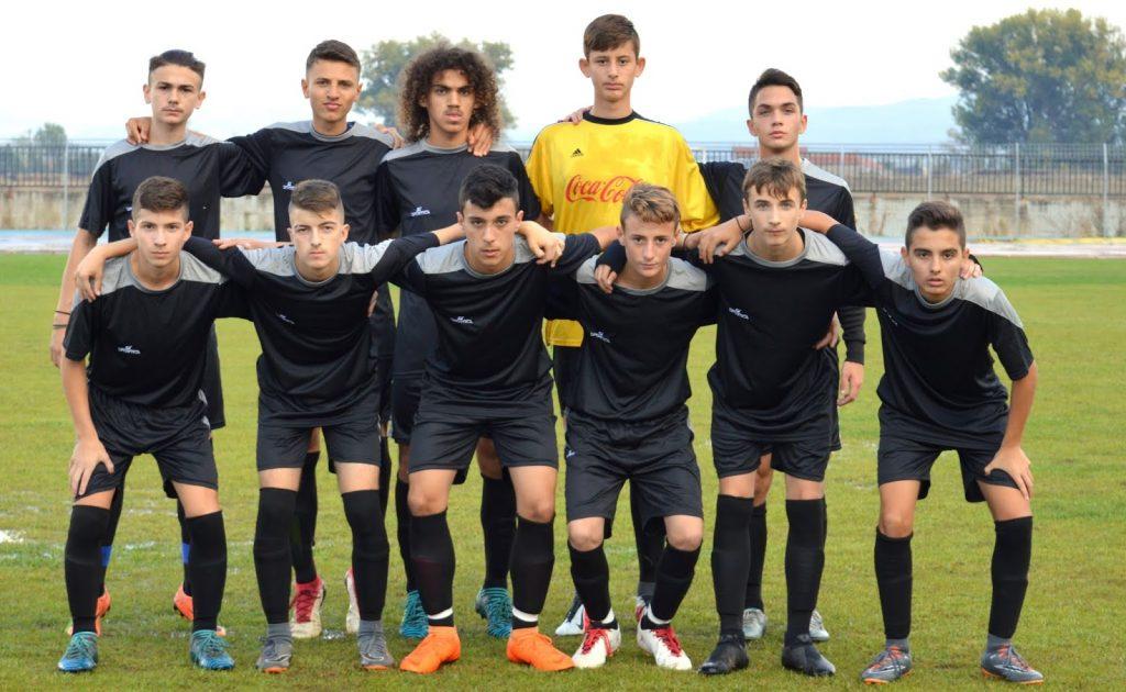 Φιλικός αγώνας Μικτής Νέων ΕΠΣ Φλωρινας - ΠΑΣ Φλώρινα 0-3